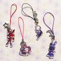 Charms Foxy, Mangle, Puppet and Faceless Bonnie by I-Am-Bleu