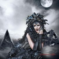 Sinister Beauty by vampirekingdom