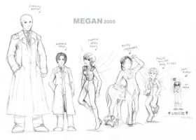 Artemis Fowl - chara design 1 by Megan-Uosiu