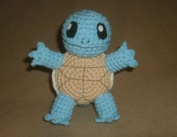Squirtle Plushie by W0IfDreamer
