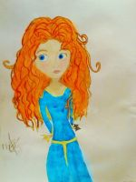 She's brave and she knows it! ( Merida , Brave ) by CartoonistInPink