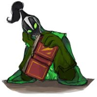 Reading Rubick by spidercandy