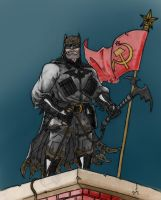 Russian Batman by Hen-Hen