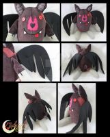 Marceline Bat Plush by NsomniacArtist