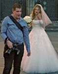 Bride and Photographer by cahilus