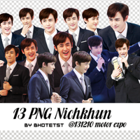 13 PNG Nichkhun @131210 motor expo by BHottest