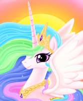 Princess Celestia by TheMoveDragenda