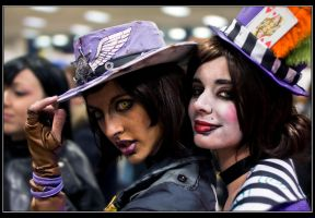 Lynchwood Sheriff and Mad Moxxi by ThelemaTherion