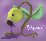 Tumblr POKEDDEX Day 4 - Bellsprout by Pamuya-Blucat