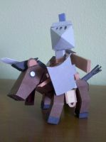 Noble Steed by BuildMyPaperHeart