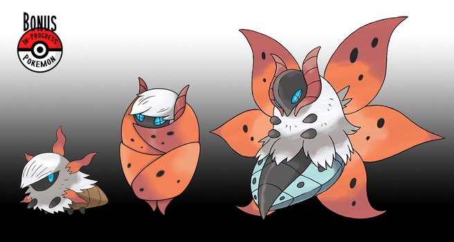 636 Larvesta Cocoon by InProgressPokemon