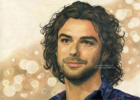 Aidan Turner drawing by Ilojleen