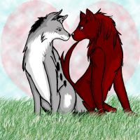 Meba and Zane by Love-Morton