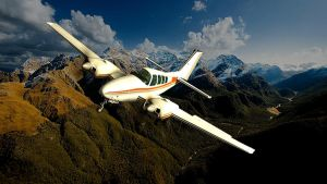 1961 Beechcraft Baron 58 by melkorius