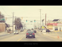 view from the passenger seat. by JeanFan