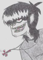 Sexy Murdoc by crazed777