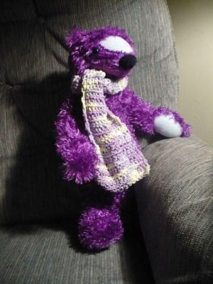 Purple Teddy Bear on Berry The Purple Teddy Bear 2 By Phoenixwildfire Jpg