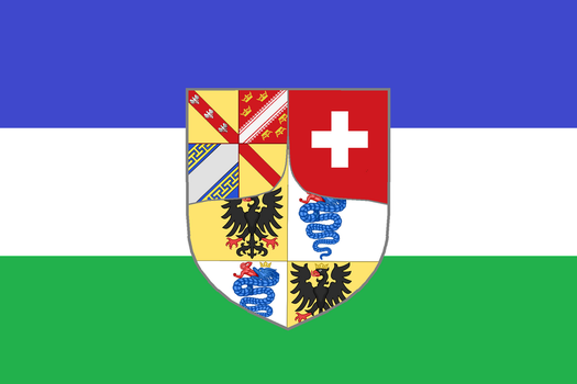 Flag of the Imperial Principality of Lotharingia by Lumi-Natis