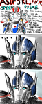 Transformers Prime - Smokescreen the fanboy by Awesomus-Prime