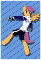 HxH - Scootaloo by ATomPonies