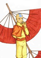 """Eheheh,"" says Aang. by HiddenDela"