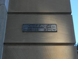 Old Queen Street Sign by Zomit