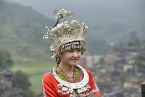 Hmong girl by stegi61