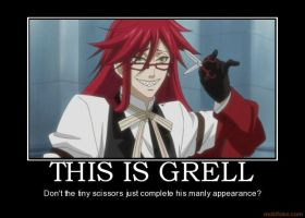 Meet Grell Sutcliff by XSabiiX