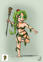 Terraria: The Dryad by GreenScrapBot