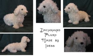 Dachshund Plush by Idess