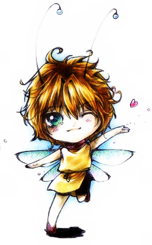 Cute fairy guy Kelton by Jujupie