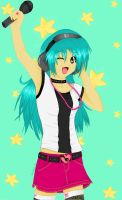 Music girl... by crystalice96