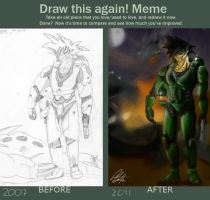 Draw This Again... Goku by Rivalhopeso