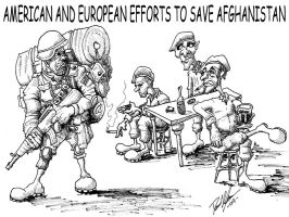 NATO's efforts in Afghanistan by LiquidNerve