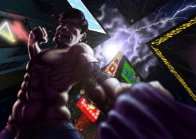 Streets of Rage Max Thunder by TenderSman