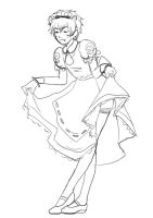 karkat's maid outfit by GeNa524