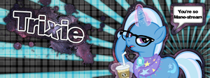 Trixie - You're So Mane-Stream (Facebook Cover) by GinoTotman