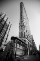Flatiron Building by juice-teen