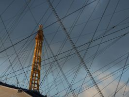 Wires on a dome by Topaz172