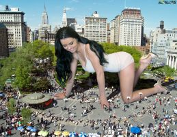 Kristina over Union Square by Beregous