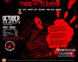 Trail of Terror Website by seventhfury