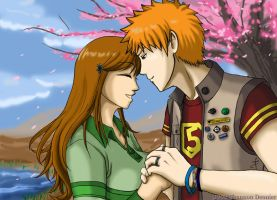 Bleach - IchiHime - Late V-Day by Pan-Pan