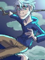Tumblr Request #1 - Jack Frost by candlehat