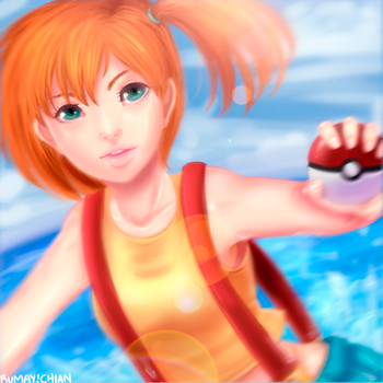 MISTY - Water Princess by Rumay-Chian