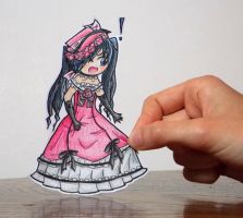 Lady Phantomhive Paperchild by TinyPaperStars