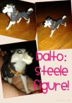 FOR SALE! Balto: Steele Figure! by Daniellee14