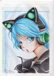 Fuuka - Neko Headphones by sasori-sanin