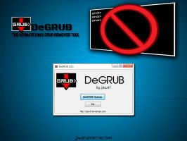 DeGRUB 1.01 - The Ultimate Linux Grub Remover by jawzf