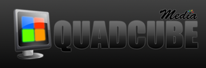 Quad Cube Media Logo by Groogie