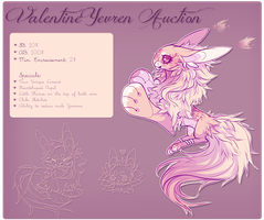 Valentine Yevren Auction! by VanillaToxin